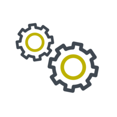 Icon of 2 cogs