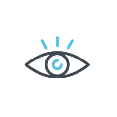 An icon of an eye